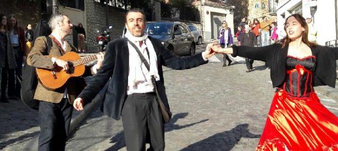 Visite-Spectacle à Montmartre le samedi 25 Mars – Photos
