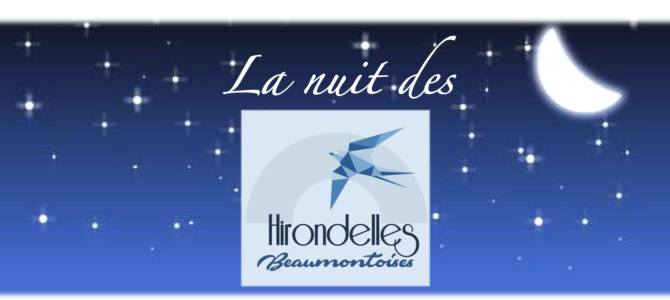 Samedi 27 Avril 2019 : La nuit des Hirondelles